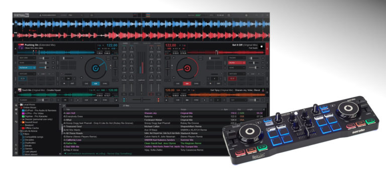 VirtualDJ 2021 avec contrôleur