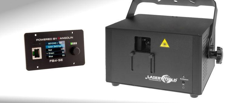 laser RGB 1.6W avec interface ILDA