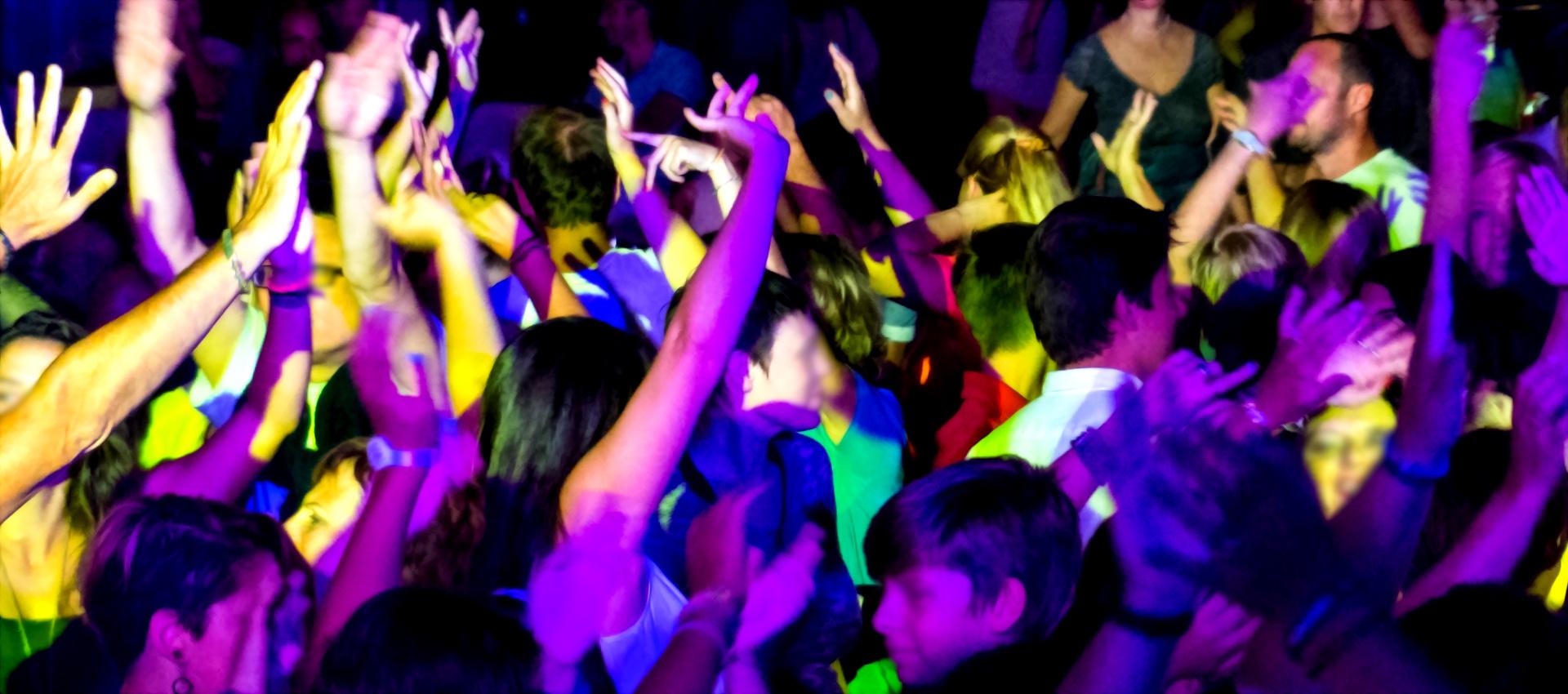Public de soirée dansante