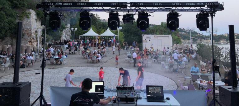 régie pour soirée DJ publique