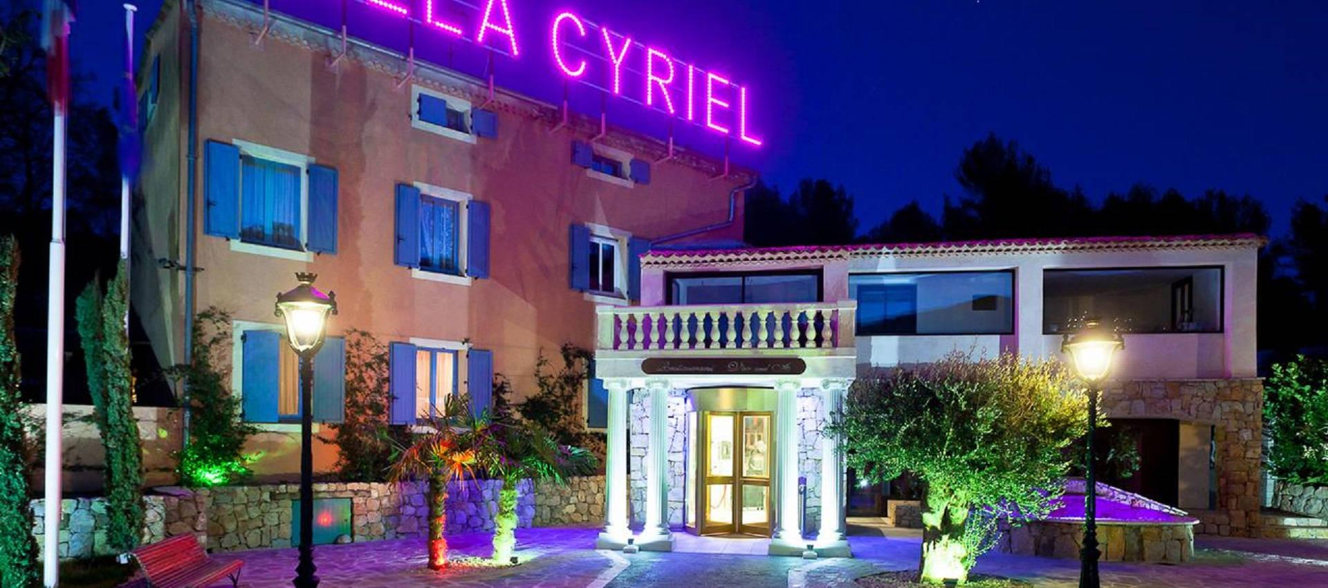 villa Cyriel - Contes